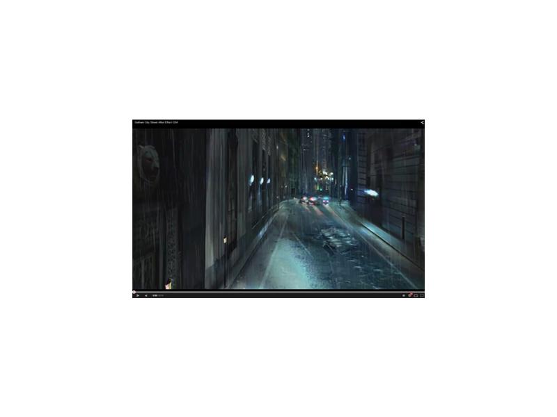Effet 3D Gotham
